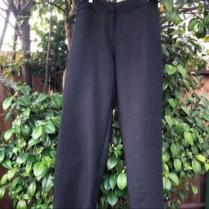 EILEEN FISHER Linen Pants In Black. Size M